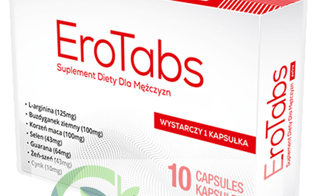 EroTabs – tabletki na erekcję