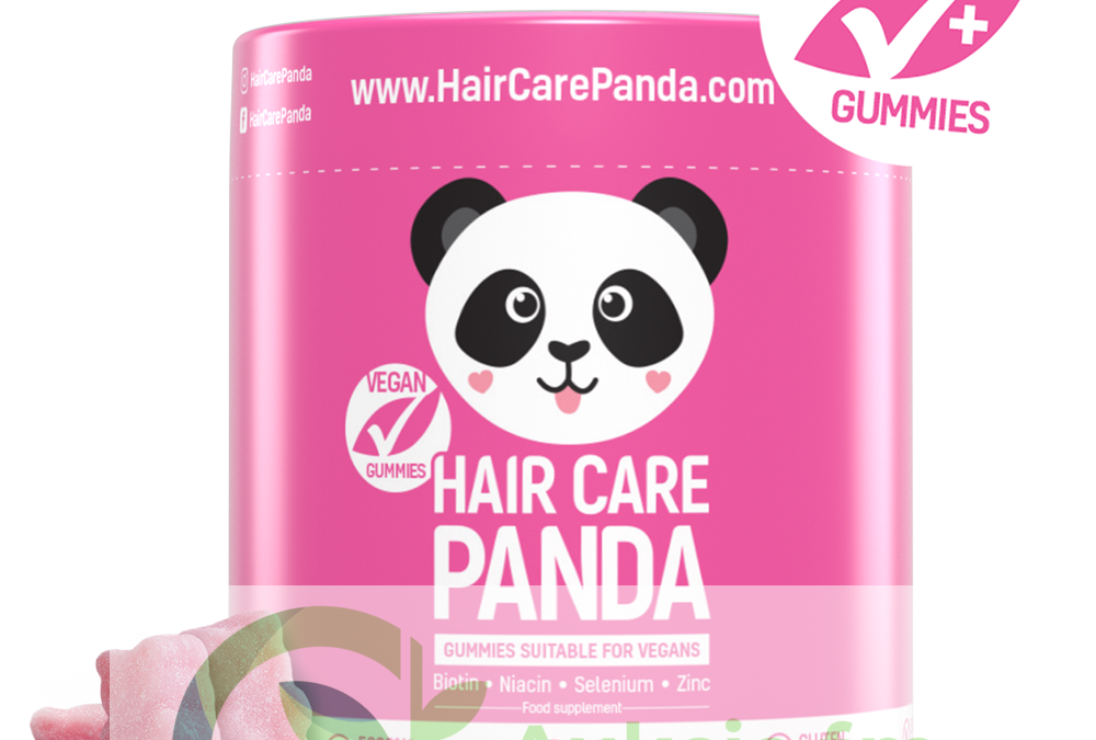 Hair Care Panda – żelki na włosy do ramion