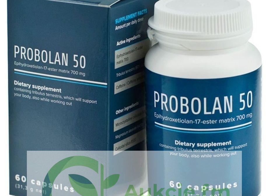 Probolan 50 – tabletki na masę mięśniową