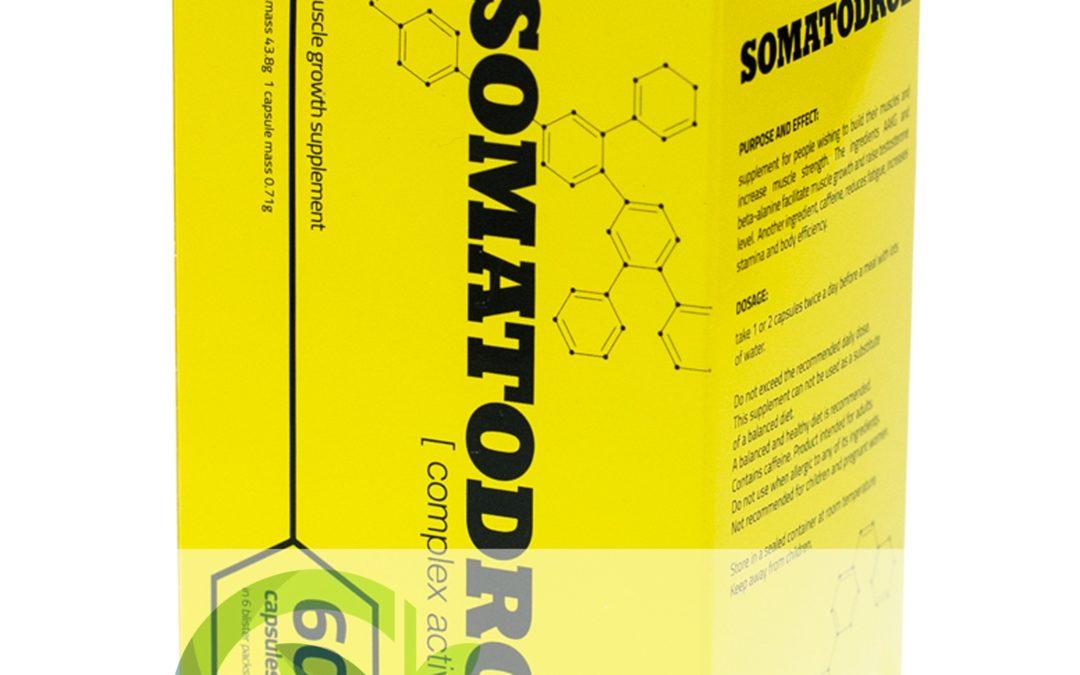 Somatodrol – tabletki na masę mięśniową