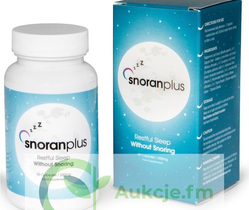 Snoran Plus – tabletki na chrapanie